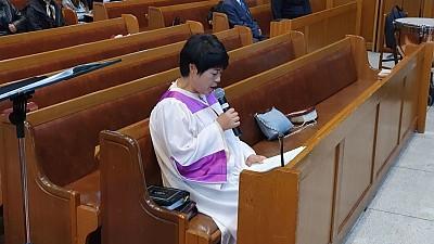 [10월20일]할렐루야 찬양대 주최 예배
